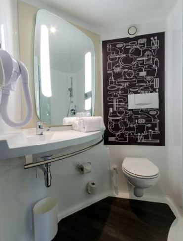 refresh salle de bain hotel ibis accor