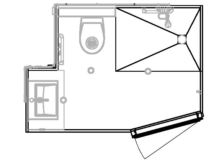 plan salle de bain balea