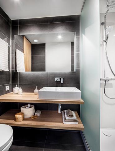hotel salle de bain préfabriquée baudet france