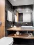 salle de bain hotel conception sur mesure standing