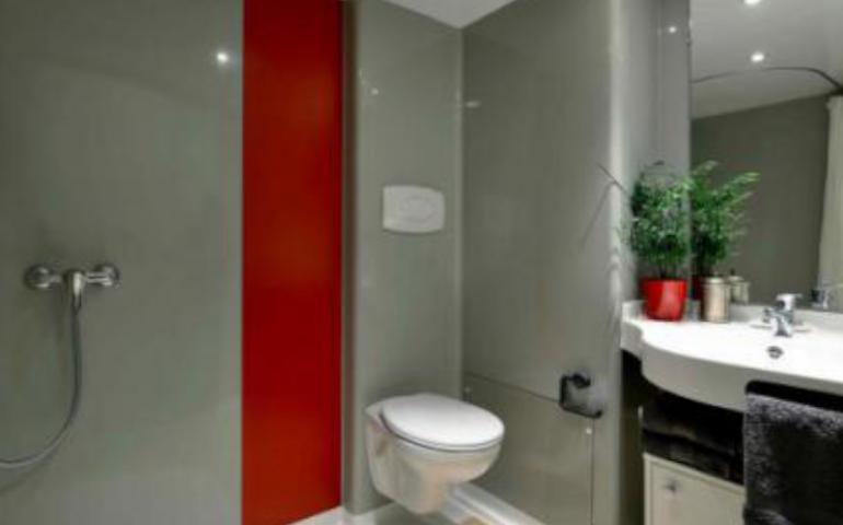 résidence sociale salle de bain