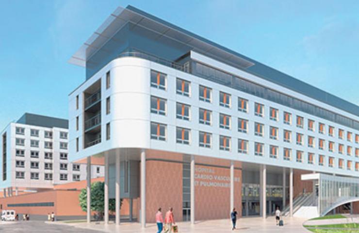 centre hospitalier lille salle de bain préfabriquée PMR santé