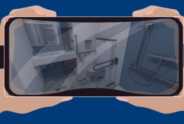 réalité virtuelle salle de bain préfabriquée