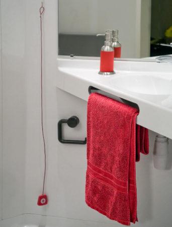 salle de bain préfabriquée compacte