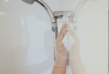 nettoyage salle de bain baudet
