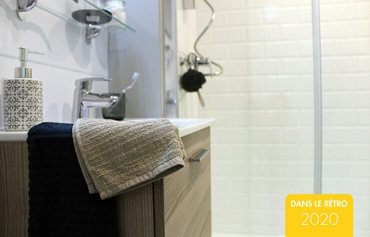 imitation carrelage salle de bain préfabriquée