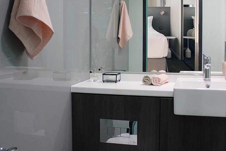 easy hotel salle de bain préfabriquée