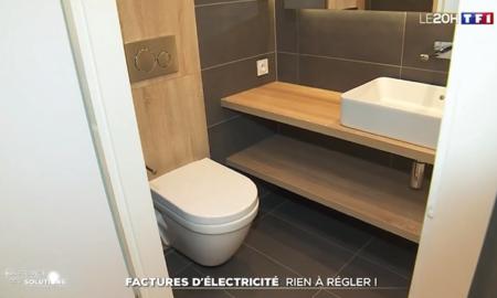 des salles de bain préfabriquées BAUDET au service des constructions à énergie positives